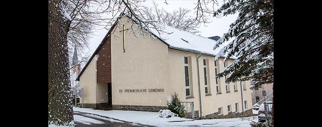 Unsere Kapelle im Schnee